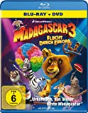 Madagascar 3: Flucht durch Europa (+ DVD) [Blu-ray]