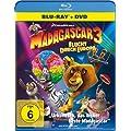 Madagascar 3: Flucht durch Europa (+ DVD) [Blu-ray]