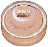 Maybelline New York Dream Smooth Mousse Foundation, Pure Beige, 0.49 Ounce, 2 pack