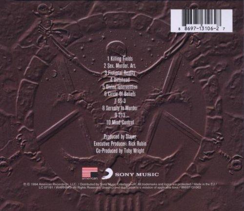 Slayer Divine Intervention Album Cover Slayer Divine Intervention