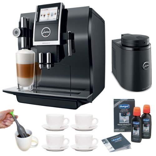 Jura 13752 Impressa Z9 One Touch TFT Coffee Machine + Cool Control Basic (34 oz.) Temperature Controlled Milk Container + Accessory Kit
