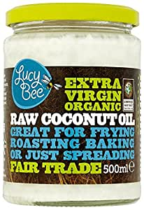 Lucy Bee Extra Virgin Raw Organic Coconut Oil 500ml