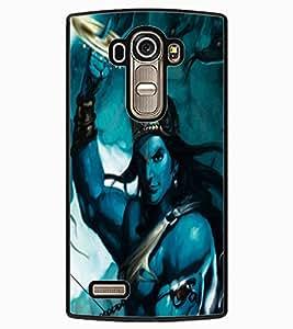 ColourCraft Lord Krishna Design Back Case Cover for LG G4