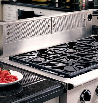 """Dacor Erv36Er: Renaissance 36"""" Epicure Raised Vent, In Stainless Steel For Use With Model Er36D (Only) front-620520"""