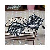 Boy Toddler Bow Tie Elastic Adjustable Neckties Shirt's Tie for Wedding Part