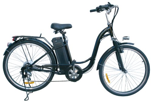 Watseka-XP-Sport-Electric-Bicycle-26-6-speed-AdultYoung-Adult-Black