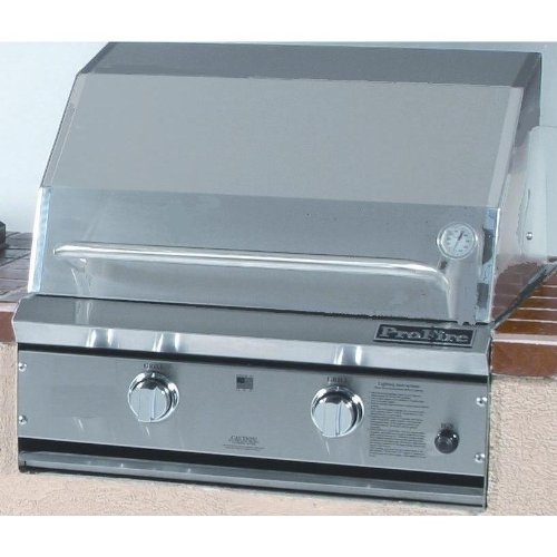 Profire Professional Series 27 Inch Natural Gas Grill - Built-in
