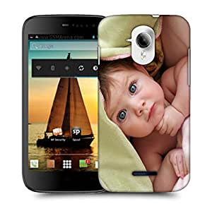 Snoogg Cute Baby Designer Protective Back Case Cover For MICROMAX A117