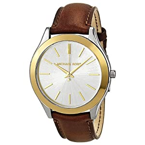 Michael Kors Runway Slim Quartz Silver Dial Women's Watch - MK2259