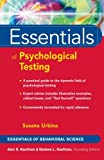 img - for Essentials of Psychological Testing book / textbook / text book