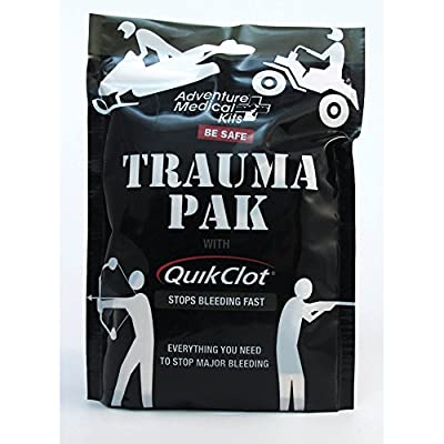 Adventure Medical Kits Trauma Pak with QuikClot Sponge from Adventure Medical Kits