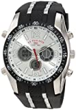 U.S. Polo Assn. Sport Mens US9061 Black Rubber Strap Analog Watch