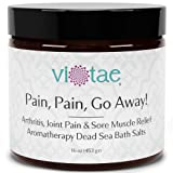 Pain Pain Go Away - Arthritis, Joint Pain & Sore Muscle Relief Aromatherapy Dead Sea Bath Salts