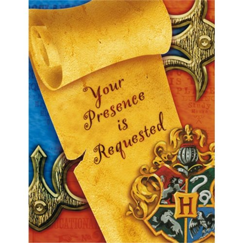 Harry Potter Invitations (8 Count) front-1053057