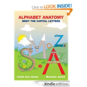 ALPHABET ANATOMY MEET THE CAPITAL LETTERS