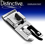 51ihIYVB18L. SL160  Distinctive Overlock Overcast Sewing Machine Presser Foot   Fits All Low Shank Snap On Singer*, Brother, Babylock, Viking (Husky Series), Euro Pro, Janome, Kenmore, White, Juki, Bernina (Bernette Series), New Home, Necchi, Elna and More!