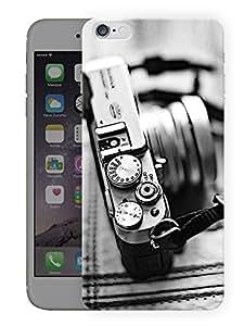"Vintage Camera Love Printed Designer Mobile Back Cover For ""Apple Iphone 6 - 6S"" (3D, Matte, Premium Quality Snap On Case)"