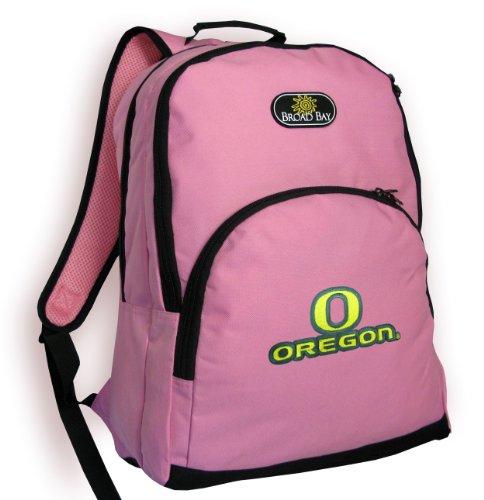University Of Oregon Backpack Pink Uo Ducks Ncaa Travel School Bags
