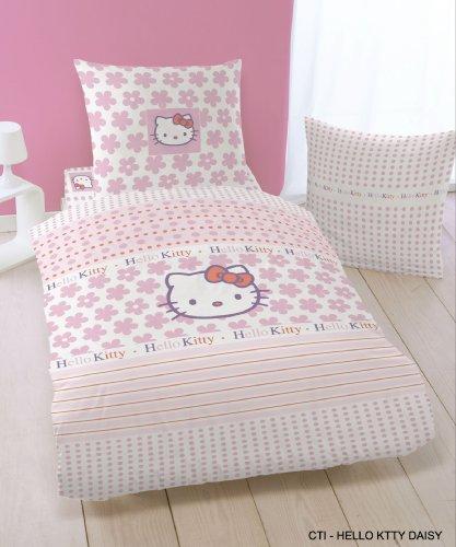 bettw sche de cti 036795 bettw sche hello kitty daisy. Black Bedroom Furniture Sets. Home Design Ideas
