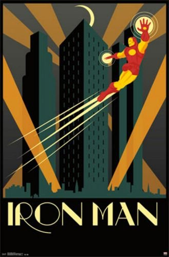 Art Deco Ironman