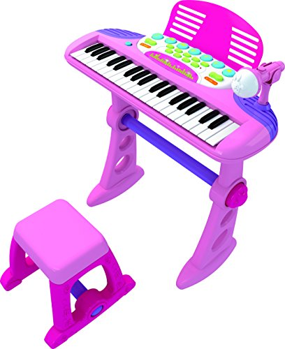 CHILDRENS-TOY-ELECTRONIC-KEYBOARD-With-37-Keys-PINK