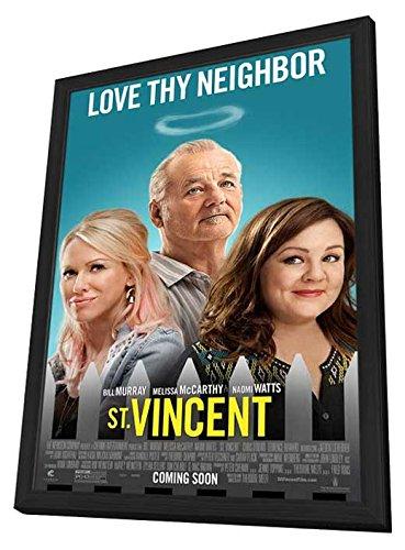 St. Vincent 27X40 Framed Movie Poster (2014)