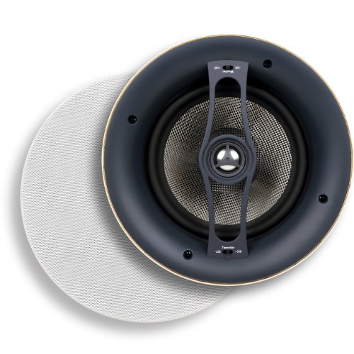 Micca R-8C 8-Inch Reference Series Rimless In-Ceiling Speaker, White front-580968