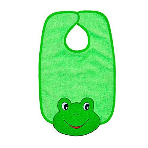 mauz-by-worner-bebe-grenouille-vert-citron-bavoirs-serviettes-de-bain-et-gant-de-bain-poncho-riesen-