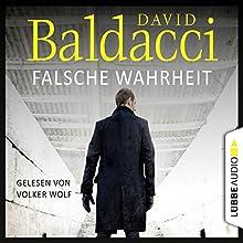 Falsche Wahrheit (Will Robie 4) Hörbuch von David Baldacci Gesprochen von: Volker Wolf
