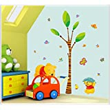 Decals Arts Winnie The Pooh Tigger Cartoon Wall Sticker