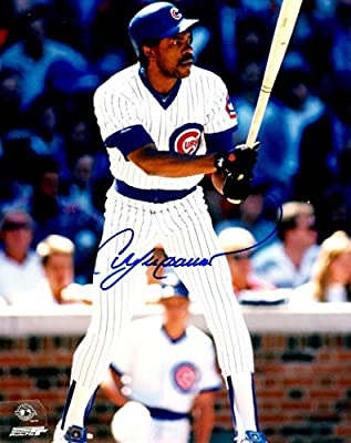 Autographed Andre Dawson Chicago Cubs 8X10 Photo