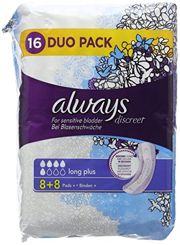 always-discreet-long-sanitary-pads-for-sensitive-bladder-pack-of-16