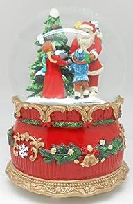 Lightahead� 100MM Santa with Gift bag…