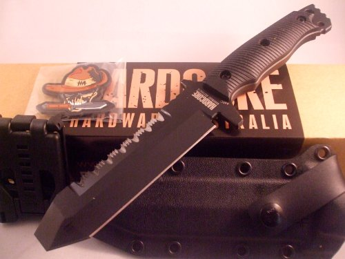 Hardcore Hardware Australia Muk01-G Tactical Eod & Dive Knife Black G-10