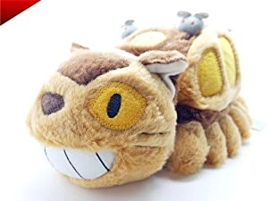 "Studio Ghibli My Neighbor Totoro Cat Bus Stuffed Plush Doll 12"" 310mm - Free Gift en BebeHogar.com"