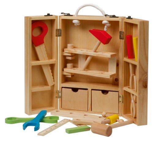 spielzeug werkzeugkoffer test die besten aus kunststoff und holz. Black Bedroom Furniture Sets. Home Design Ideas