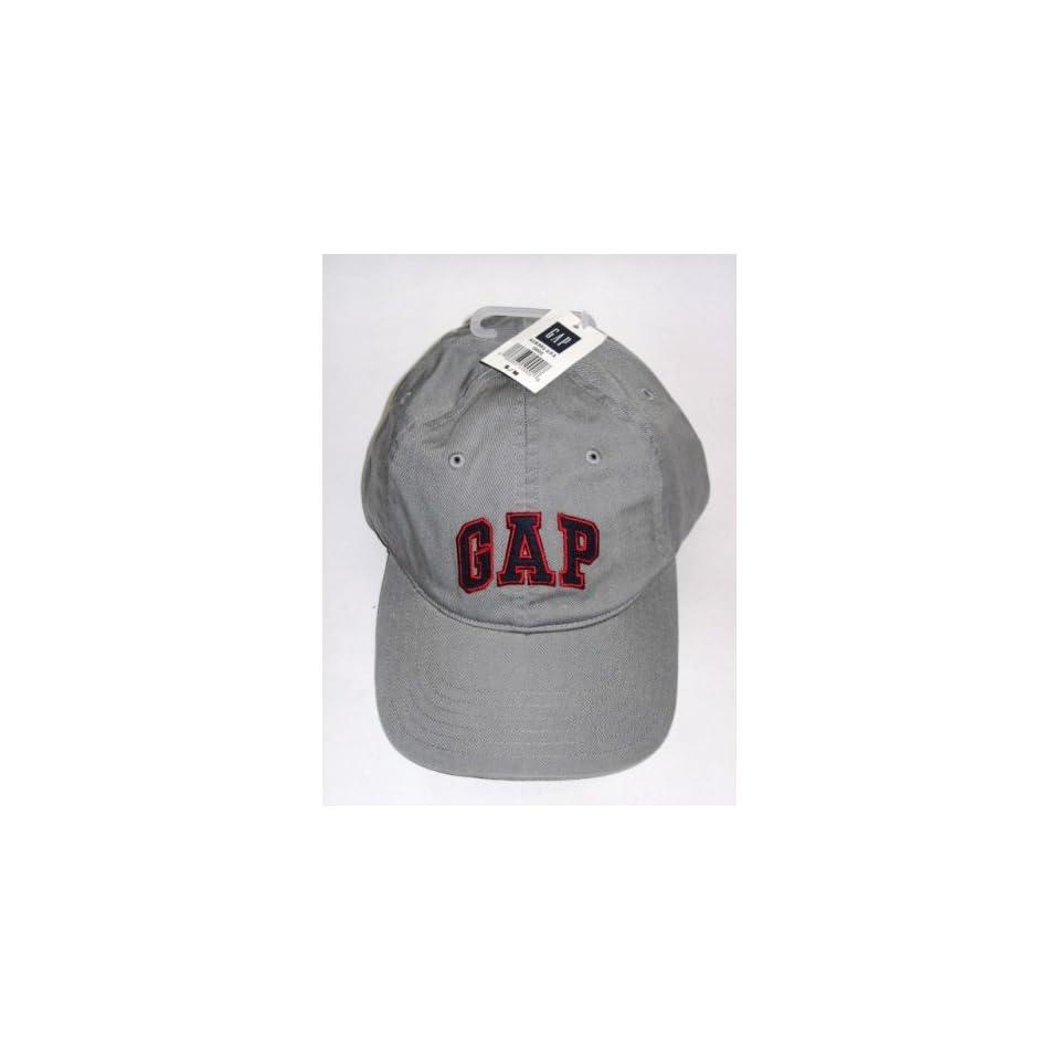 6151289646c Gap Logo Gray Baseball Cap Hat Size S M Womens Mens on PopScreen