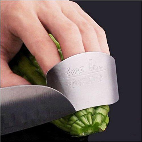 Hot Stainless Steel Hand Guard Finger Protector Knife Slice Chop Safe Slice Tool?