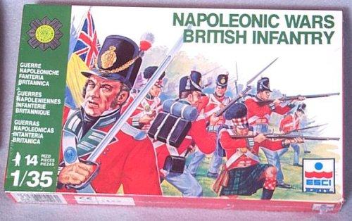 Picture of ESCI Napoleonic Wars British Infantry Figures (B0012GVZTQ) (ESCI Action Figures)