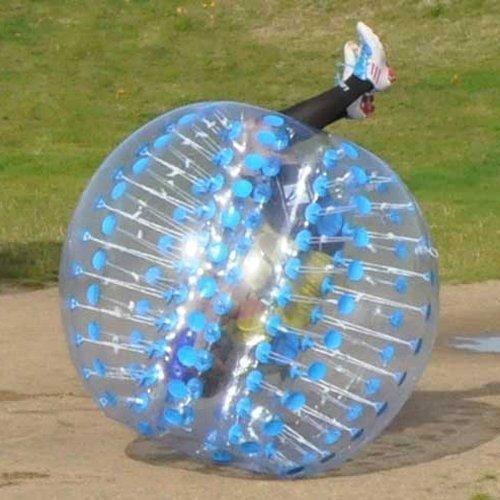 HolleywebTM Blue Bubble Soccer Ball Dia 5′ (1.5m) Human Inflatable Bumper Bubble Balls by Holleyweb bestellen