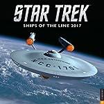 Star Trek 2017 Wall Calendar: Ships o...