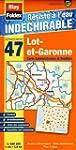 Lot-et-Garonne (47). Carte D�partemen...