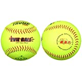 Trump® MP-EVIL-RP-ASA-Y MP Series Evil Sports 12 Inch 52/300 ASA Premium Grade Leather Softball (Sold in Dozens)