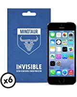 Minotaur Apple iPhone 5/5S/5C Screen Protector Pack: Super Clear (6 Screen Protectors)