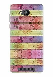 Noise Designer Printed Case / Cover for Lava A67 / Nature / Flower Design