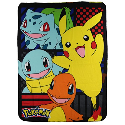 kids-fleece-throw-blankets-45-x-60-several-options-pokemon-pikachu-and-friends