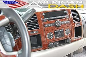 Chevrolet Chevy Silverado Interior Wood Dash Trim Kit Set 2010 2011 2012 2013