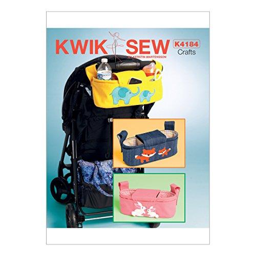 Kwik-Sew-Mustern-k4184osz-Kinderwagen-Organizer-Taschen-Schnittmuster-Tissue-mehrfarbig