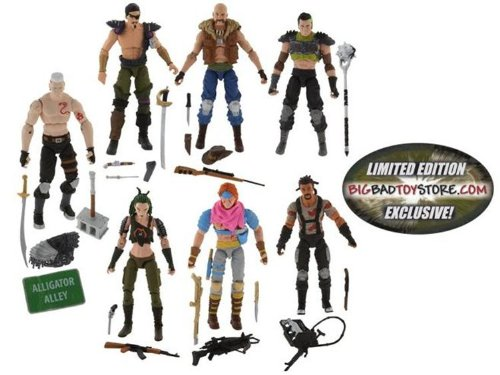 GI Joe Exclusive Action Figure 7Pack Boxed Set Dreadnoks Battle Set