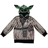 Star Wars Yoda Boys Zipper Hoodie (L(10/12))